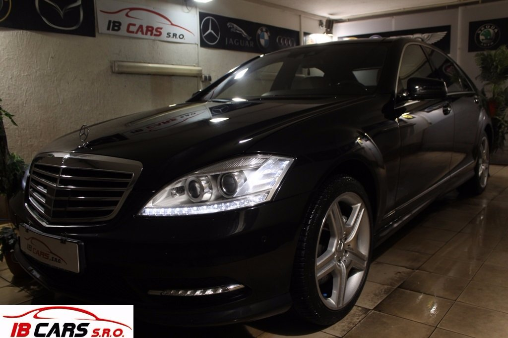 Mercedes S trieda 500 L 4matic Facelift / AMG-Packet