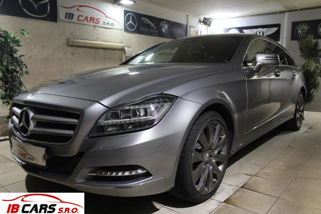 Mercedes CLS 350 CDI 4matic Shooting Brake Blueeffici