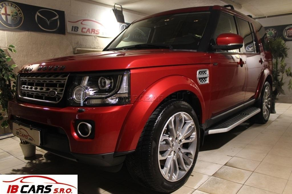 Land Rover Discovery 3.0 TDV6 7 Miest A/T 8
